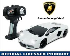 1:18 WHITE LAMBORGHINI AVENTADOR LP700 RC Radio Remote Racing Car Kids Child Toy