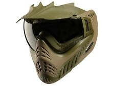 New V-Force Profiler Paintball Goggles Mask - Dual Olive Drab / Desert Tan