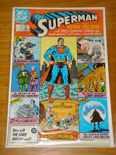 SUPERMAN #423 VOL 1 DC COMICS NEAR MINT ALAN MOORE SEPTEMBER 1986