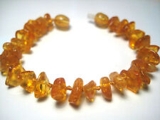 Honey Baltic Natural  Amber Children's Anklet/Bracelet