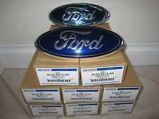 Ford Super Duty 2005 2007 Blue Oval Grille Emblem Factory OEM   (F100-3z)(Qty 1)