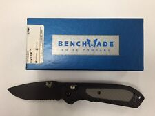 NEW Benchmade 560SBK Freek Axis Lock Partially Serrated S30V Blade Folding Knife