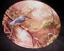 ROYAL DOULTON BRADEX COLLECTORS PLATE - 'FIRST WATCH' - KINGFISHER