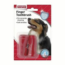 Beaphar Dog Finger Toothbrush Twin Pack Posted today if paid before 1PM