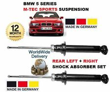 FOR BMW 530 535 M TEC SPORT E39 1996-2003 2 REAR LEFT + RIGHT SHOCK ABSORBER SET