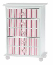 Laurent Doll 18 inch Doll Pink Stripes Chest of Drawers American Girl Furniture