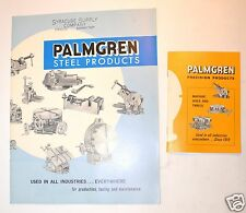 2 Vintage PALMGREN Precision USA Vise rotary Table Catalogs #RR16