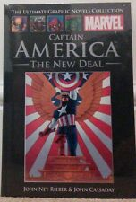 Official Marvel Graphic Novel Collection, CAPTAIN AMERICA: THE NEW DEAL