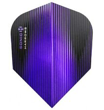 HARROWS NEW EXTRA STRONG SONIC STANDARD SHAPE FLIGHTS...PURPLE
