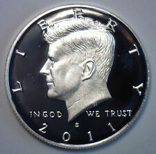 2011 S Proof SILVER Kennedy Half Dollar Coin 50 Cent JFK from US Mint Proof Set