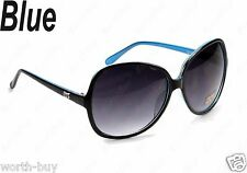 New DG Retro Vintage Womens Designer Sunglasses Shades Large Fashion Black Blue