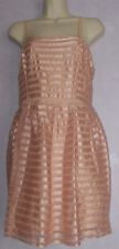 "NEW Ladies H&M rose gold lined dress size M 34-36""bust"