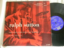 RALPH SUTTON Piano Solos in the Classic Tradition George Wettling Riverside LP