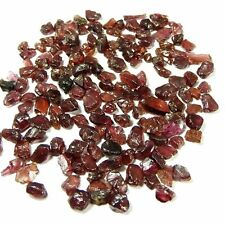 98.50Cts. NATURAL WINE RED MOZAMBIQUE GARNET ROUGH LOOSE GEMS WHOLESALE LOT