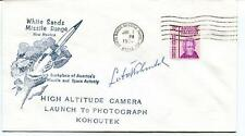 1974 White Sands Missile Range New Mexico Space Activity Kohoutek Jackson SIGNED