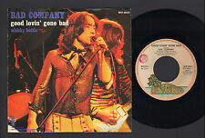 "7"" BAD COMPANY GOOD LOVIN' GONE BAD / WHISKY BOTTLE MADE IN ITALY 1975 ISLAND LB"