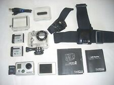 GoPro HD Hero 2,w/LCD VIEWER! Very Nice! EXTRAS!  NO RESERVE!