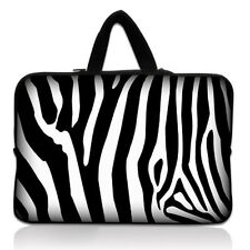 "17"" 17.3"" Zebra Print Laptop Soft Sleeve Bag Case+Handle For HP ENVY 17 3D"