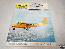 AVIATION MAGAZINE N° 434 - DE HAVILLAND TWIN OTTER - LOCKHEED C-5 1966 *