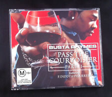 Busta Thymes - Pass The Courvoisier -Part II- Feat P Diddy & Pharrell -CD Single