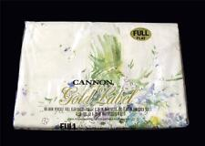 Vintage Cannon Gold Label Floral Spray Abstract Paint Brush Full Flat Sheet NIP