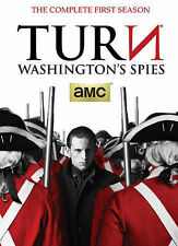 Turn: Washington's Spies New DVD! Ships Fast!