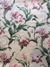 Vintage 90's Arthur Sanderson fabric x 3m floral curtain material