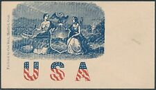 "#O-US-36 ""USA"" UNION CIVIL WAR PATRIOTIC COVER BS3797"