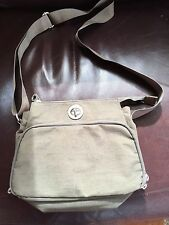 BAGGALLINI TURNLOCK MESSENGER CROSSBODY ORGANIZER BAG PURSE TOTE HANDBAG 10x8x3