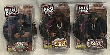 NEW and RARE Mezco Run DMC Action Figure Toy Set- Kid Robot Meticom Vinyl