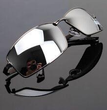 2016 Men Sunglasses Box Mirror Driver Eyewear Outdoor Sport Mirrored Sun Glasses