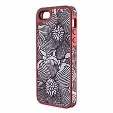 Speck FabShell Fabric-Covered Case iPhone 5 & 5S  - FreshBloom Coral Pink/Black