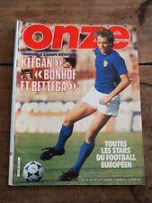 ONZE - N°54 - Juin 1980 - Bettega Janvion Vandenbergh Complet Programme 1980