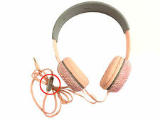 blingustyle designer Iridescent crystal fashion  Ear-Cup headphone AB-pink