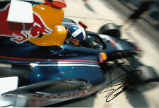 David Coulthard Hand Signed Red Bull Racing Photo 12x8 9.