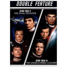 Star Trek V: The Final Frontier/Star Trek VI: The Undiscovered Country (DVD,...