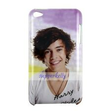 One Direction Harry Styles Hard Back Cover Case For Ipod Touch 4TH Case #Purple