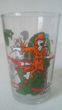 VERRE A MOUTARDE TMNT TURTLES TORTUES NINJA - FRENCH COLLECTOR'S GLASS - 1990
