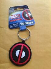 "Marvel Soft Touch PVC Key Ring: ""Deadpool Logo"""