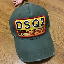 ****2017 RARE New DSQUARED2 Cap Khaki/Green ****Bargain!!!