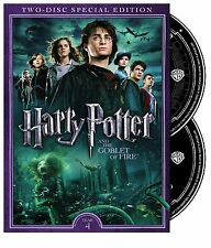 HARRY POTTER AND THE GOBLET OF FIRE 2 DISC SPECIAL EDITION DVD