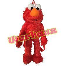 Sesame Street Elmo Plush Doll Backpack Bag 17 in, New