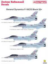 Techmod Decals 1/32 GENERAL DYNAMICS F-16 BLOCK 52+ Fighter