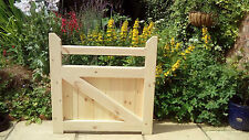 Wooden Garden single pedestrian gate 3 ft high x 3 ft wide