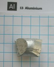 10g 99,9% aluminium metal nugget - Element 13 sample