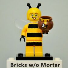 New Genuine LEGO Bumblebee Girl Minifig with Honey Pot Series 10 71001