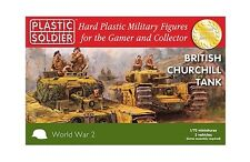 Plastic Soldier Company BNIB 1/72nd Churchill Tank WW2V20017