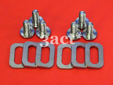 12 pcs Titanium / Ti Bolt & Spacer - Keo Carbon Ti HM Sprint Classic Pedal Cleat