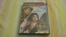 FINAL FANTASY X-2 PLAYSTATION 2 PS2 RPG VIDEO GAME COMPLETE NEW