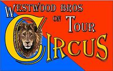 Vintage Style Circus Sign Retro Style Sideshow Carnival Funfair Sign